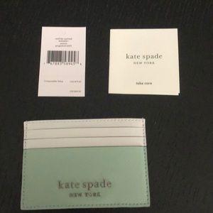 Kate Spade Cameron Spring Meadows Card Holder NWT